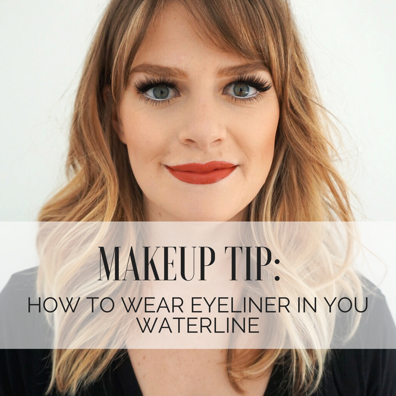 Makeup Tip: How to use eyeliner in your waterline