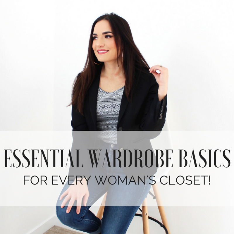 Essential Wardrobe Basics for Every Woman's Closet