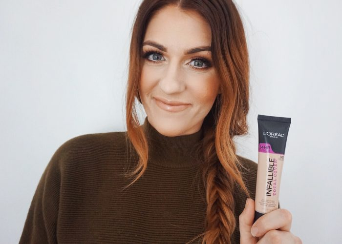 Loreal Total Cover Foundation Makeup Review