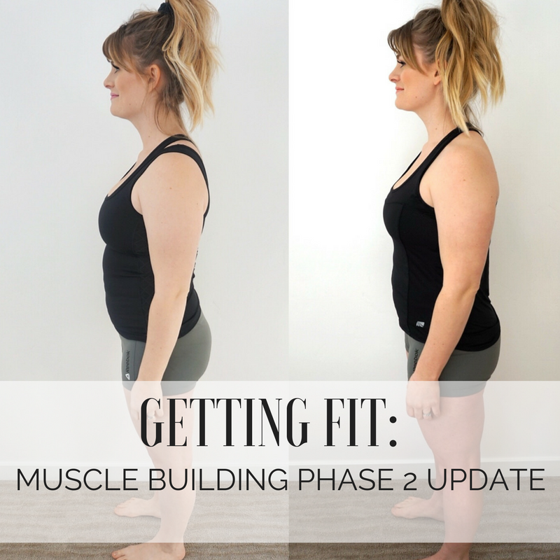 Getting Fit: Muscle Building Phase 1 UPDATE