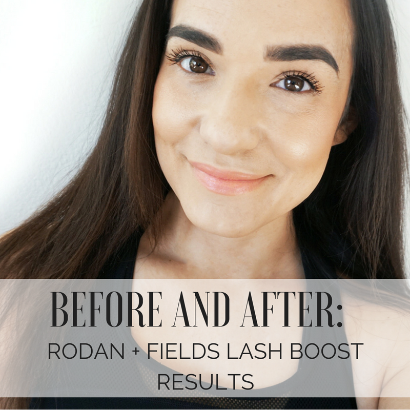 Before and After: Rodan+Fields Lash Boost Results