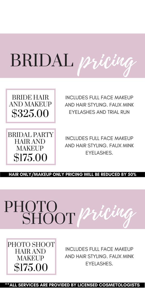 wedding makeup and hair prices bridal makeup pricing beste awesome inspiration 9798